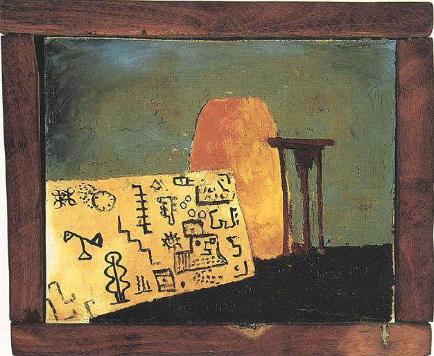 Hieroglyphics, 1950 - Forrest Bess