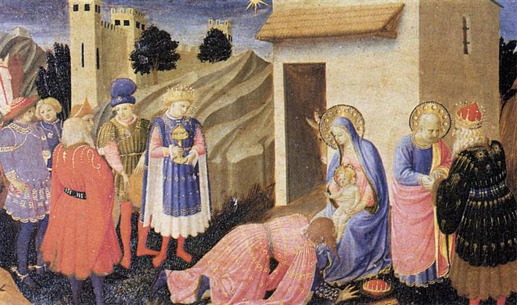 Adoration of the Magi, 1433 - 1434 - Fra Angelico