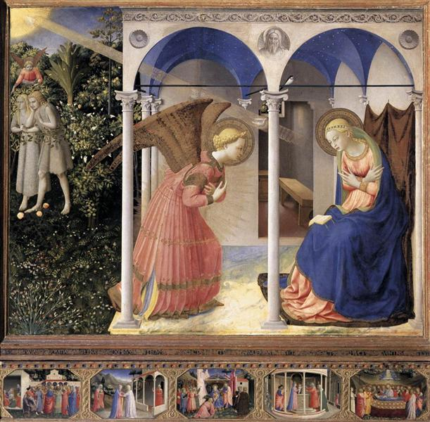 Annunciation, 1425 - 1428 - Fra Angelico