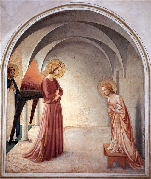 Annunciation, 1440 - 1442 - Fra Angelico