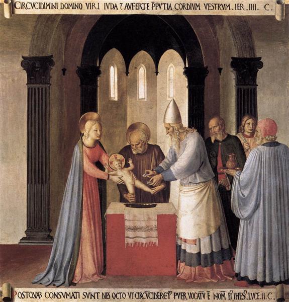 Circumcision, 1451 - 1452 - Fra Angelico