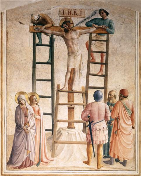 Nailing of Christ to the Cross, 1441 - 1442 - Fra Angelico