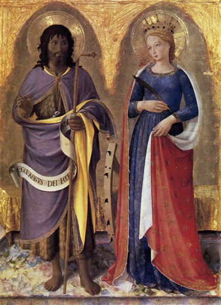 Perugia Altarpiece (right panel), 1447 - 1448 - Fra Angelico