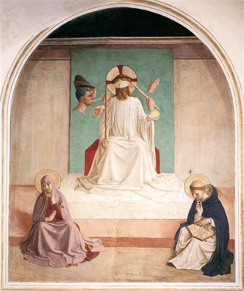 The Mocking of Christ - Fra Angelico
