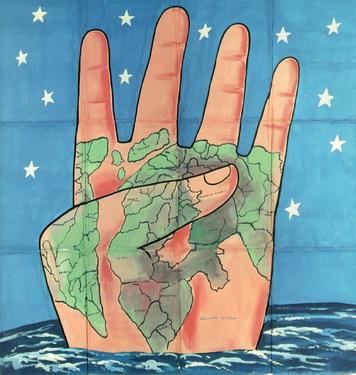 The Four Corners, 1985 - Francesco Clemente