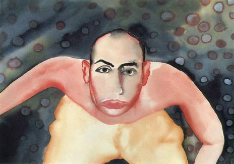Waiting, 1982 - Francesco Clemente