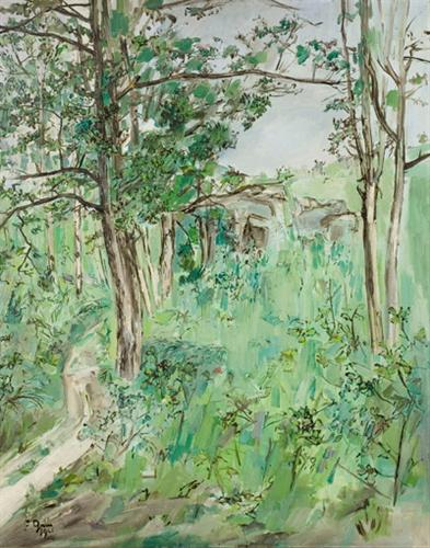Paysage de printemps - Francis Gruber