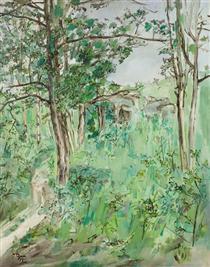 Paysage de printemps - Франсис Грюбер