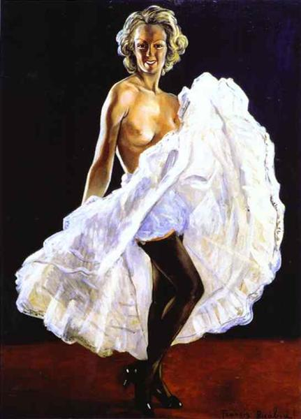 Dancer of- French Cancan, c.1942 - c.1943 - Francis Picabia