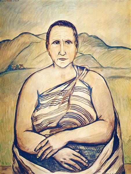 Gertrude Stein, 1933 - Francis Picabia