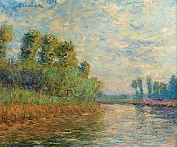 Moret-sur-Loing, 1901 - Francis Picabia