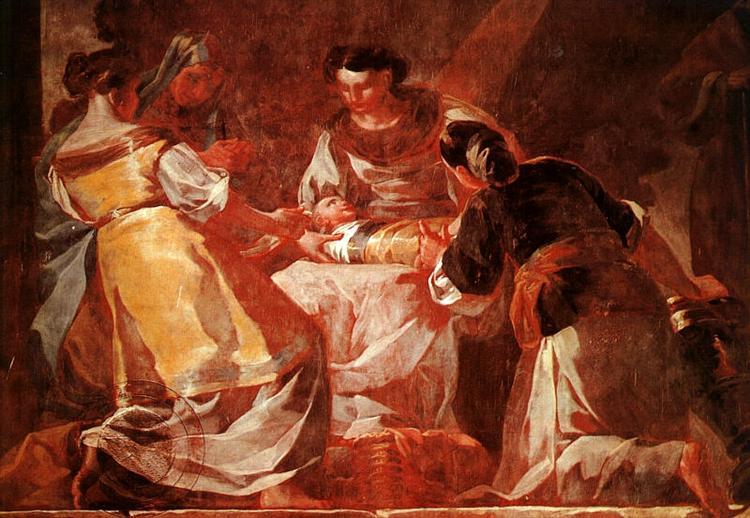 Nacimiento de la Virgen , 1772 - Francisco de Goya