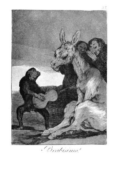 Bravissimo, 1799 - Francisco Goya