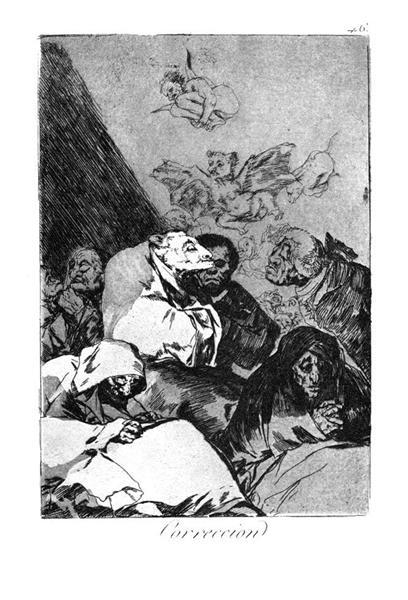 Correction, 1799 - Francisco Goya