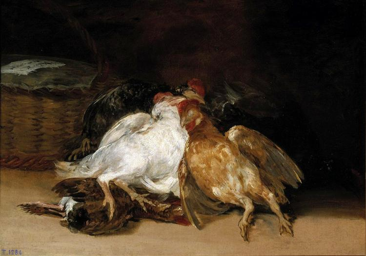 Dead Birds, 1808 - 1812 - Francisco Goya