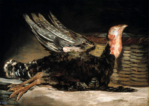 Dead turkey, 1808 - 1812 - Francisco Goya