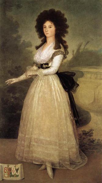 Dona Tadea Arias de Enriquez, 1793 - Francisco Goya