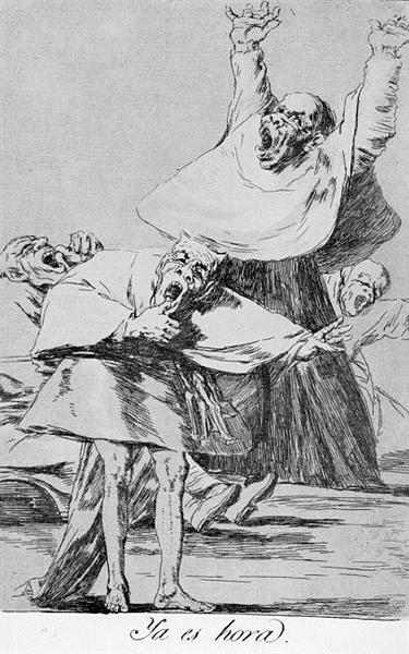 It is Time, 1799 - Francisco Goya