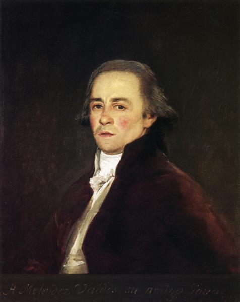 Juan Antonio Melendez Valdes, 1797 - Francisco Goya