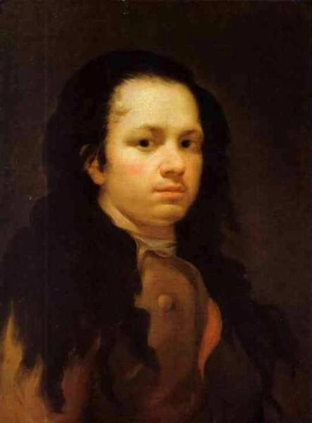 Self-portrait, c.1770 - c.1775 - Francisco Goya