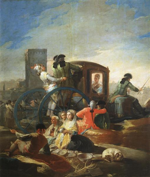 El cacharrero , 1779 - Francisco de Goya