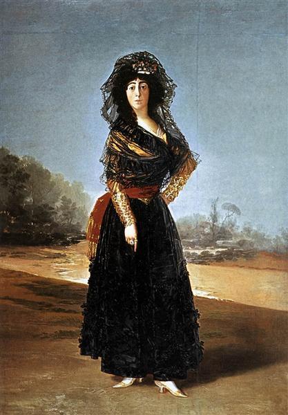 The Duchess of Alba, 1797 - Francisco Goya