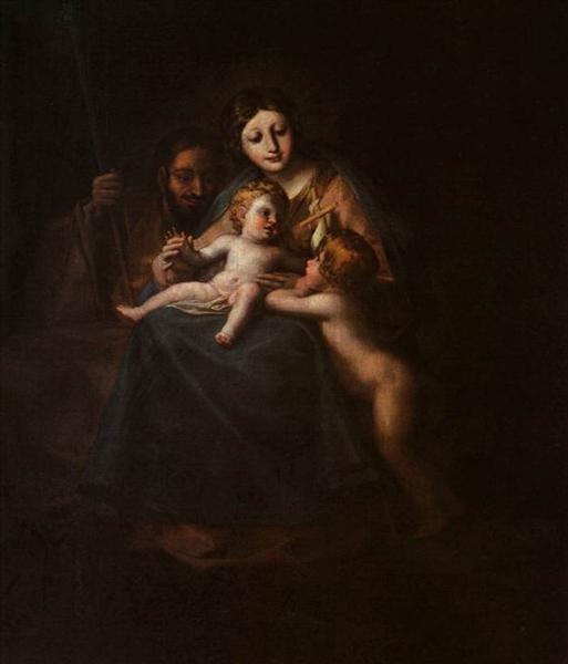 The Holy Family, c.1780 - Francisco Goya