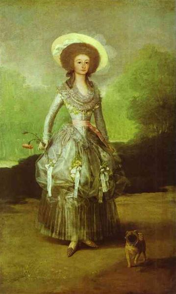 The Marquesa de Pontejos, c.1786 - Francisco Goya