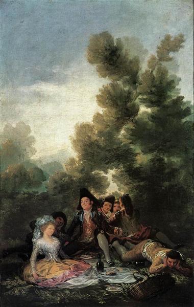 The Picnic, 1788 - Francisco Goya