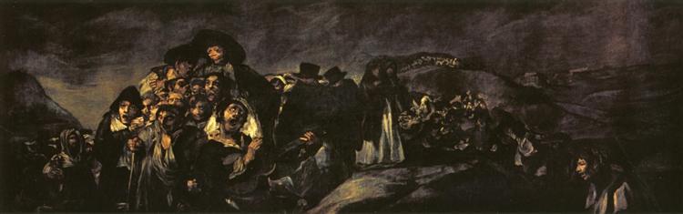 The Pilgrimage of San Isidro, 1820 - 1823 - Francisco Goya