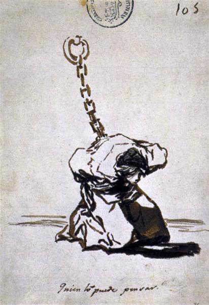 Who Can Think of It?, 1814 - 1823 - Francisco Goya