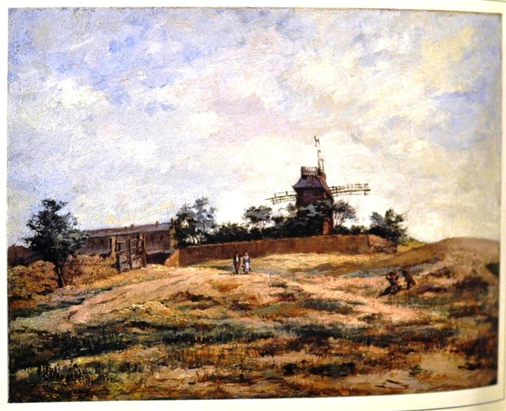 El molino - Francisco Oller