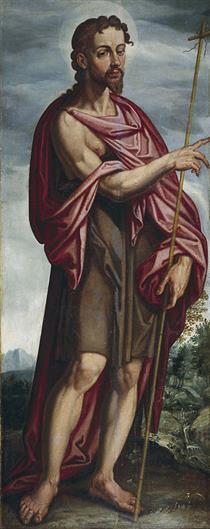 San Juan Bautista - Francisco Pacheco
