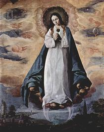A Imaculada Conceição - Francisco de Zurbarán