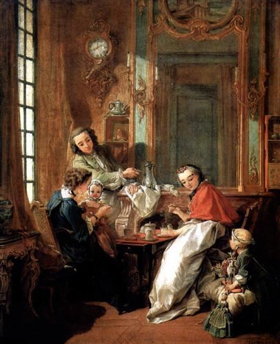 Breakfast - Francois Boucher