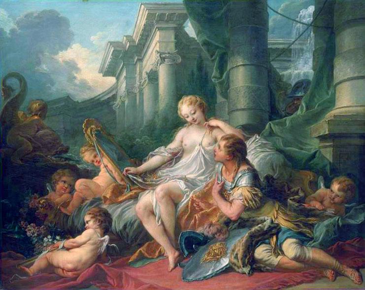 Rinaldo and Armida, 1734 - Francois Boucher
