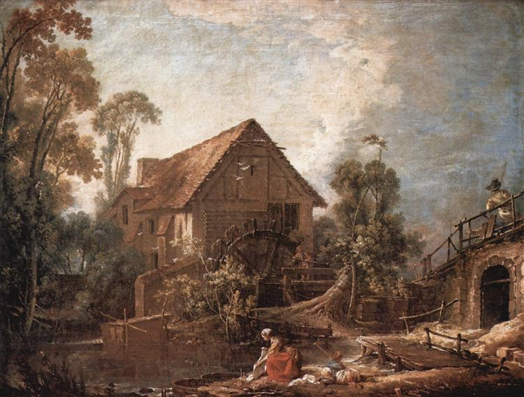 The Mill, 1751 - Francois Boucher