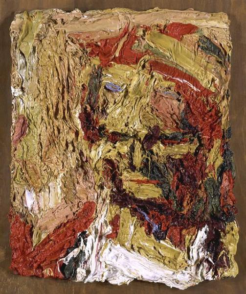 Head of E.O.W. I, 1960 - Frank Auerbach