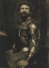 Self Portrait in Armor - Frank Eugene