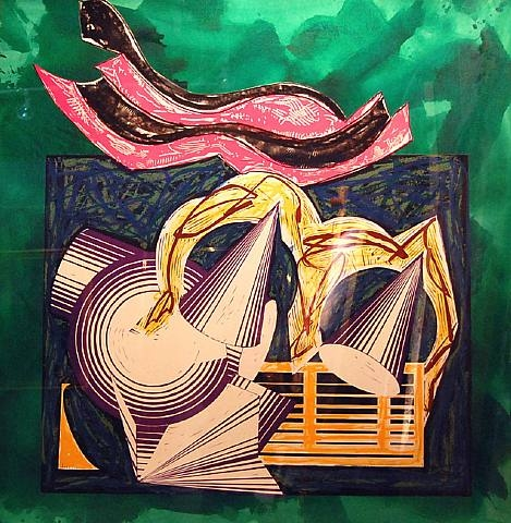 One Small Goat Papa Bought for Two Zuzim, 1984 - Frank Stella