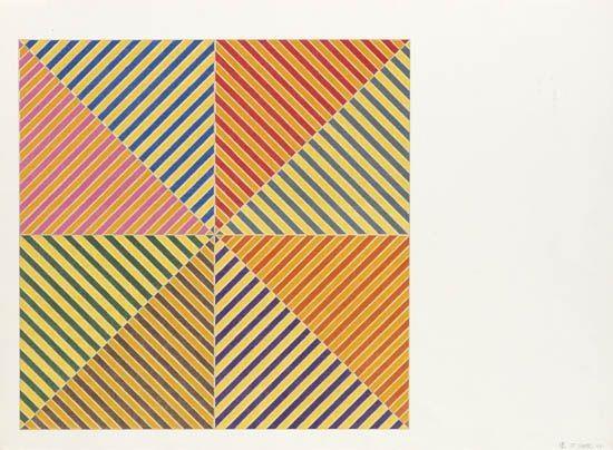 Sidi Ifni (from America's Hommage à Picasso), 1973 - Frank Stella