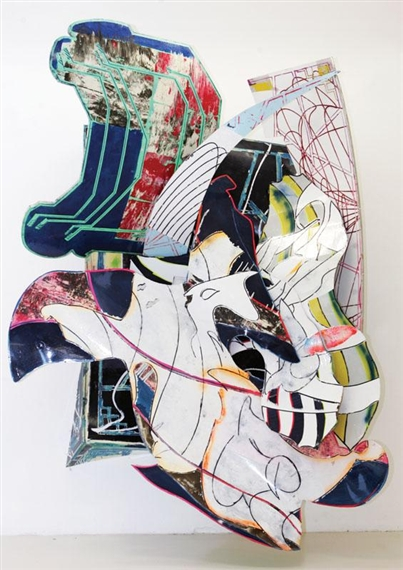 The Mat-Maker, 1990 - Frank Stella