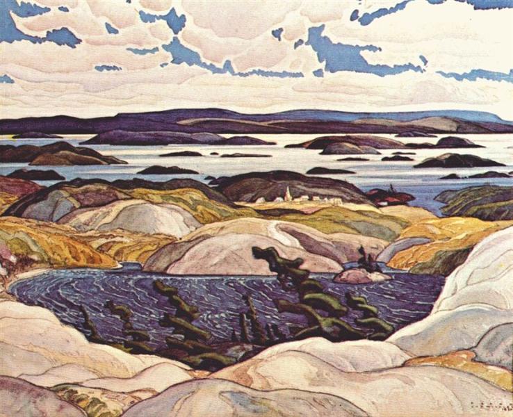 Bay of Islands, 1930 - Франклин Кармайкл