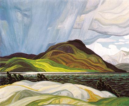 Lake Wabagishik - Franklin Carmichael
