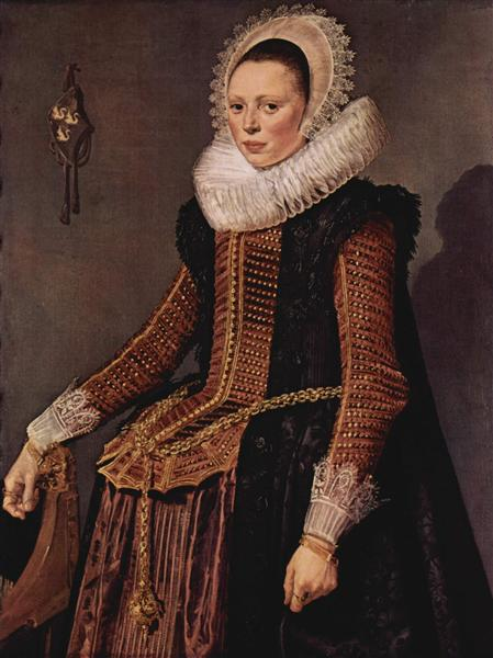 Portrait of an unknown woman - Frans Hals