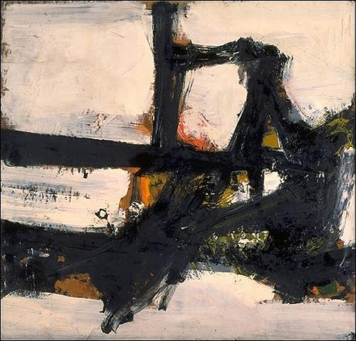 Orange Outline, 1955 - Franz Kline
