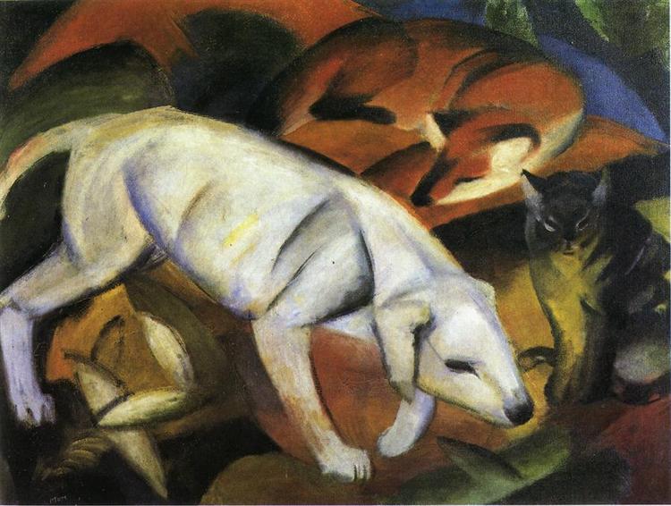 A Dog, 1912 - Franz Marc