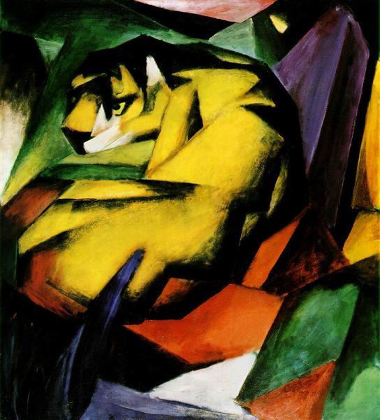 Tiger, 1912 - Franz Marc