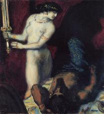 Judith and Holofernes - Franz Stuck