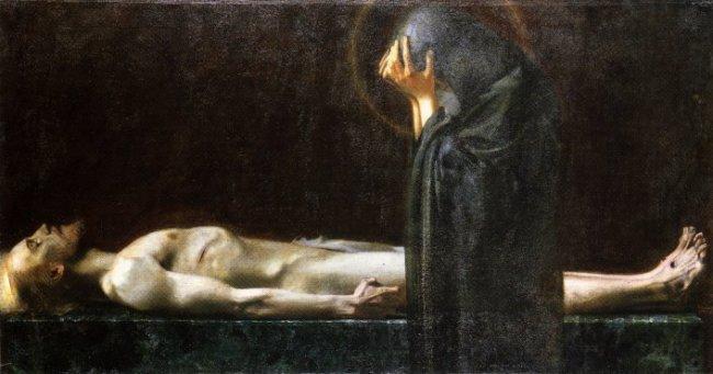 Pieta, 1891 - Franz Stuck